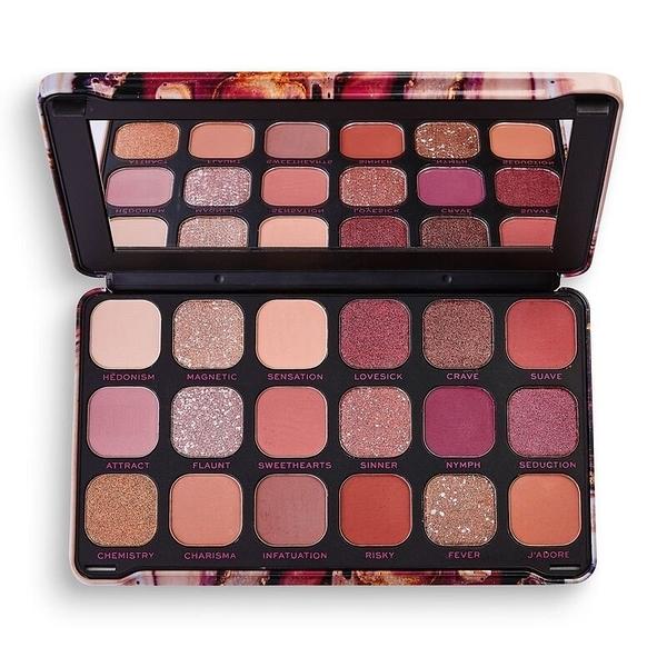 Makeup Revolution Forever Flawless Allure 18色珠光 眼影盤