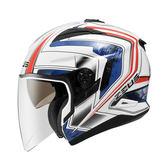 ZEUS瑞獅安全帽,ZS-613B,AJ6/白藍