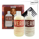 VERB 豐盈洗髮2件組-洗髮精 355ml+潤髮乳355ml+造型梳 Volume - WBK SHOP