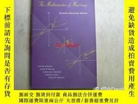 二手書博民逛書店The罕見mathematics of marriage : dynamic nonlinear models