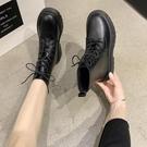 馬丁靴女英倫風短靴2020新款網紅瘦瘦靴春秋單靴百搭ins潮機車靴 小山好物