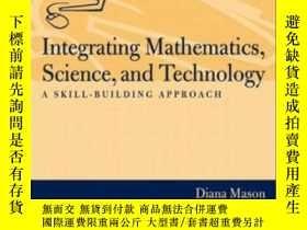 二手書博民逛書店Integrating罕見Mathematics Science And Technology: A Skill-