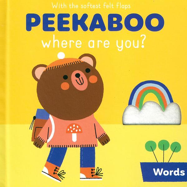 Peekaboo,Where Are You?:Words 躲貓貓翻翻書:單字篇
