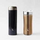 SWANZ 大口陶瓷保溫杯 - 530ml (特惠加購兩件組)簡約黑(大口杯)+古銅(晶粹