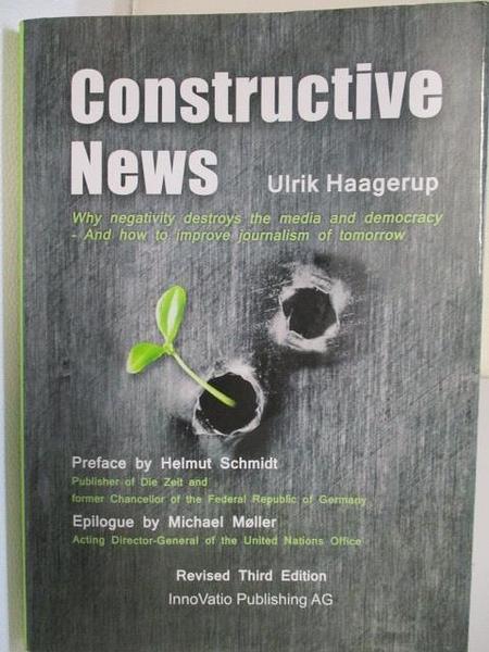 【書寶二手書T1/社會_BOZ】Constructive News_Revised Third Ed