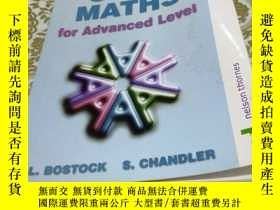 二手書博民逛書店CORE罕見MATHS for Advanced Level(高