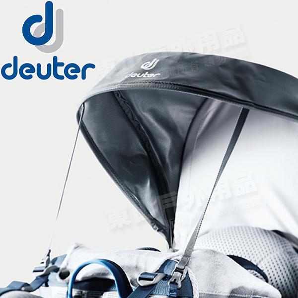 Deuter 3690219墨黑 嬰兒背架防雨遮陽棚_附遮雨罩 KC SUN ROOF搭配Kid Comfort揹架背包使用