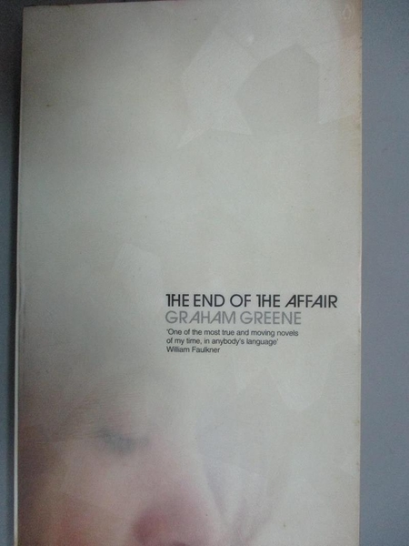 【書寶二手書T5/原文小說_NNF】The End of the Affair_Greene, Graham