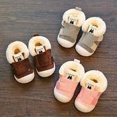 冬季學步鞋男0-1-2-3歲軟底寶寶鞋子女防滑透氣布鞋嬰幼兒鞋棉鞋 免運