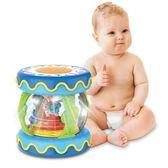 寶寶手拍鼓兒童音樂拍拍鼓可充電益智0-1歲6-12個月3早教嬰兒玩具   蜜拉貝爾