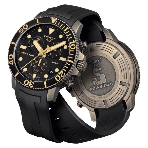TISSOT天梭Seastar1000海洋之星300m潛水計時錶(T1204173705101)/45mm