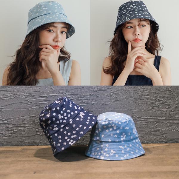MIUSTAR 可愛小花漁夫帽(共2色)【NH1818】預購