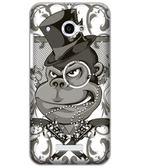 ♥ 俏魔女美人館 ♥  HTC Butterfly / X920D 蝴蝶 {猩猩*水晶硬殼} 手機殼 手機套 保護殼 保護套