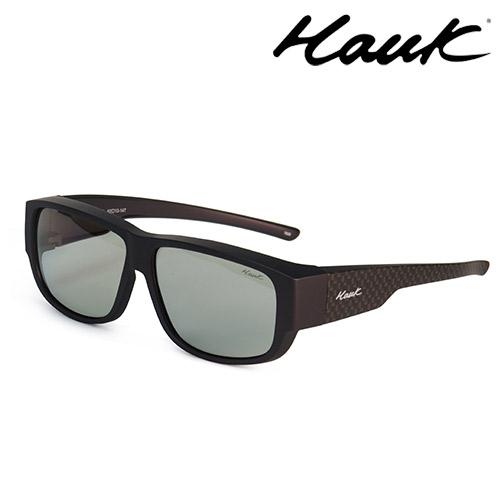 HAWK多用途室內戶外感光變色偏光太陽套鏡(眼鏡族專用)HK1009C-47