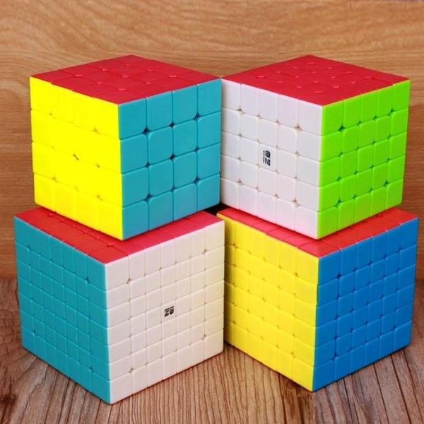 魔方 奇藝六階魔方實色七階魔方67階魔方八階9階專業魔方順滑益智玩具