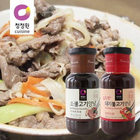 韓國 大象 醃烤調味醬 (單罐) 280g 原味 辣味 調味醬 烤肉醬 燒肉醬 烤肉 中秋