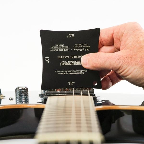 小叮噹的店- MusicNomad MN604 弦距寶盒 專業級吉他弦距測量工具6件組 Precision Setup