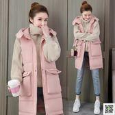 馬甲 羽絨棉馬甲套裝女中長款秋冬裝新款小個子背心外套韓版時尚潮 歐歐流行館