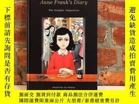 二手書博民逛書店安妮日記(漫畫小說)英文原版罕見Anne Frank's Diary: The Graphic Novel Ann