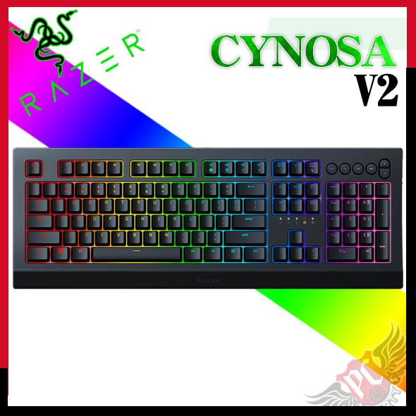 [ PC PARTY ]RAZER 雷蛇 薩諾狼蛛V2 CYNOSA V2 RGB 薄膜式鍵盤