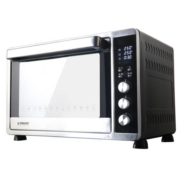 (原廠保固)山崎微電腦45L電子控溫不鏽鋼全能電烤箱SK-4680M(大全配)[結帳輸入A1000,再折$1000]