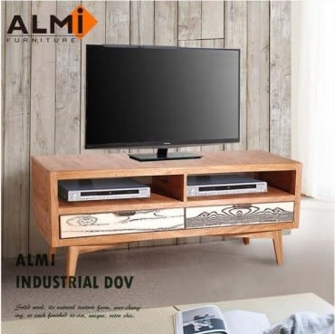 ALMI DOCKER VINTAGE-TV 2 DRAWERS 雙抽電視櫃