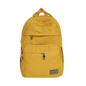 【南紡購物中心】J II 後背包-無限多隔層防潑水後背包-黃色-6377-18