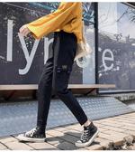 夏裝 工裝褲寬鬆bf束腳顯瘦百搭帥氣運動短褲潮牌法式休閒褲