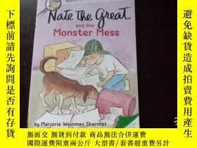 二手書博民逛書店Nate罕見The Great and the Monster Mess 內特大帝和怪物團Y20470 Mar