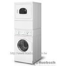 Huebsch 優必洗 YTGE5A/YTGE5ASP(瓦斯型) 12KG/15KG 上烘乾下洗衣機※熱線07-7428010