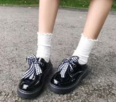 洛麗塔Lolita皮鞋洋裝制服鞋日系圓頭【聚寶屋】
