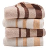 純棉毛巾4條裝洗臉面巾加厚成人大洗臉巾柔軟吸水