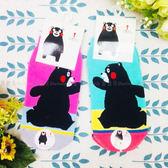 【KP】15~22cm 台灣製 熊本熊襪子 多色拼接 跑步 粉 綠 童襪 DTT100007631