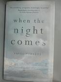 【書寶二手書T1/原文小說_OMF】When the Night Comes_Favel Parrett