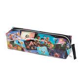 《sun-star》SNOOPY-史努比 The Peanuts Movie系列PVC防水筆袋(集合寫真)★funbox生活用品★_OP47832