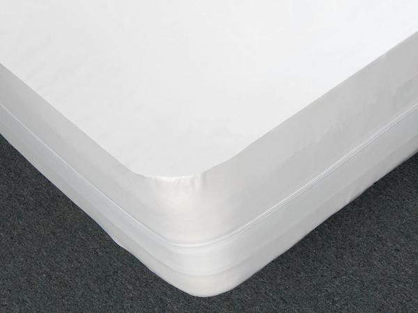 床套全密封防水防螨透氣床墊套全包式拉鍊式保潔墊 規格:雙人(5 X 6.2)52x190x30cm30(28~32cm)