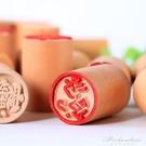 糕點印章木制饅頭點心蘇式烘焙中式喜字福字小鮮肉月餅花模具 黛尼時尚精品