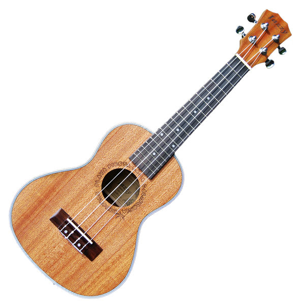 【奇歌】音質優選►台灣 Jazzy 烏克麗麗 高級沙比利木 21吋,厚棉琴袋+調音器+全配,吉他