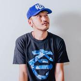 KID ® Logo Snapback 電鏽棒球帽 藍/紅 兩色