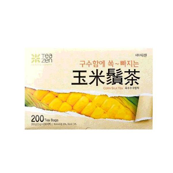 [COSCO代購] C588155 玉米鬚茶 200包/盒 TEAZEN CORN SILK TEA