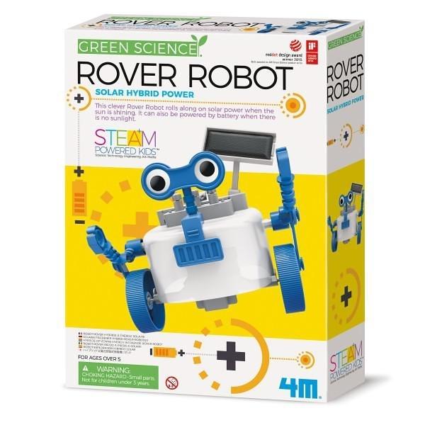 《4M科學探索》光電 - 星際巡邏員 Rover Robot╭★ JOYBUS玩具百貨
