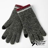 PolarStar 男 混色觸控保暖手套『黑灰』台灣製造│保暖手套│絨毛手套│觸控手套│刷毛手套 P18620