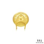 點睛品 航海王One-Piece 喬巴帽子單邊黃金耳環(單只)