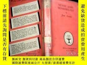 二手書博民逛書店SENSE罕見AND SENSIBILITY 1961年原版精裝