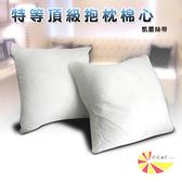 【凱蕾絲帝】特級可水洗棉-抱枕裸棉內材48~50CM專用-四入