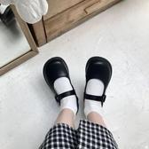 娃娃鞋日系復古可愛軟妹jk小皮鞋瑪麗珍鞋低幫鞋一對大頭娃娃 春季特賣