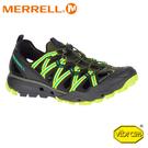 【MERRELL 美國 男 Choprock Shandal 水陸兩棲運動鞋《橄欖綠》】50355/低筒鞋/越野/防水