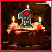 蛋糕蠟燭 無煙環保數字蠟燭一周歲慶典派對
