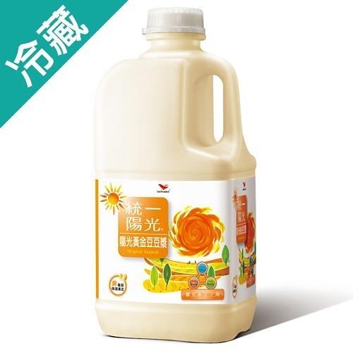 統一陽光陽光黃金豆豆漿1858ml【愛買冷藏】