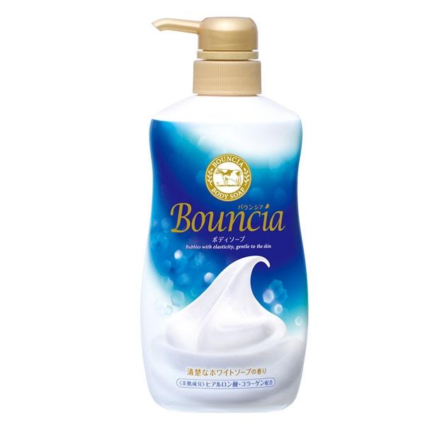 日本牛乳石鹼-美肌保濕沐浴乳(藍-優雅花香) 500ML